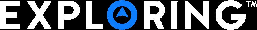 Exploring Logo horizontal version.