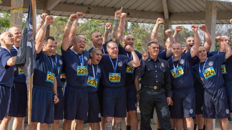 recruit class 153 charity run