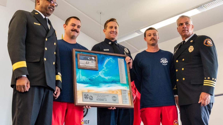 Lifeguard academy award.