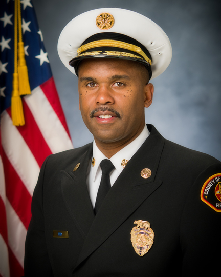 Portrait image of Fire Chief Osby