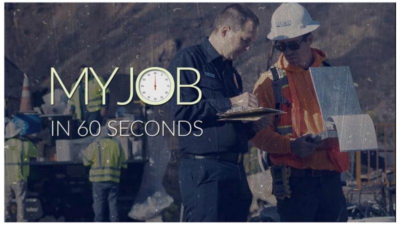 my job in 60 seconds image