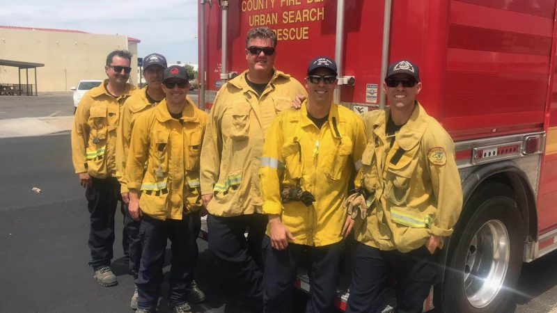 Group photo of USAR