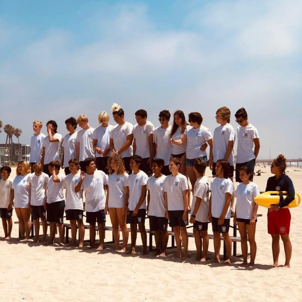 Junior Lifeguard Group Photo