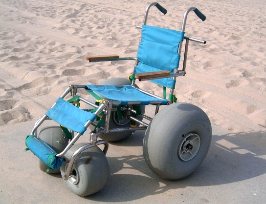 Wheel Chair for the sand.