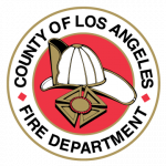 Single Los Angeles County Fire Department Logo.